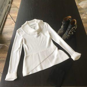 NWT White House Black Market Cowl neck sweater